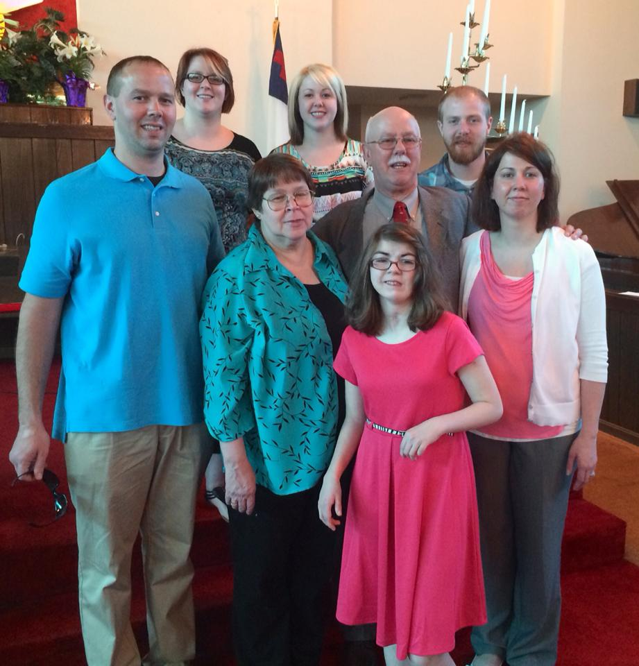 Families Celebrating Easter